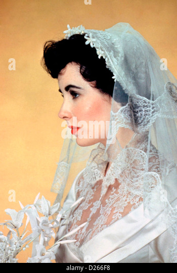 FATHER OF THE BRIDE  1950 MGM film with Elizabeth Taylor as Kay Banks - Stock-Bilder