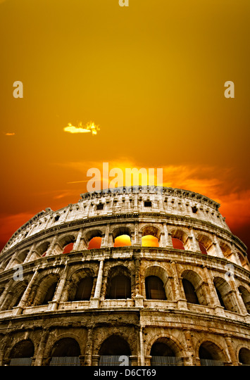 The Colosseum - Stock Image