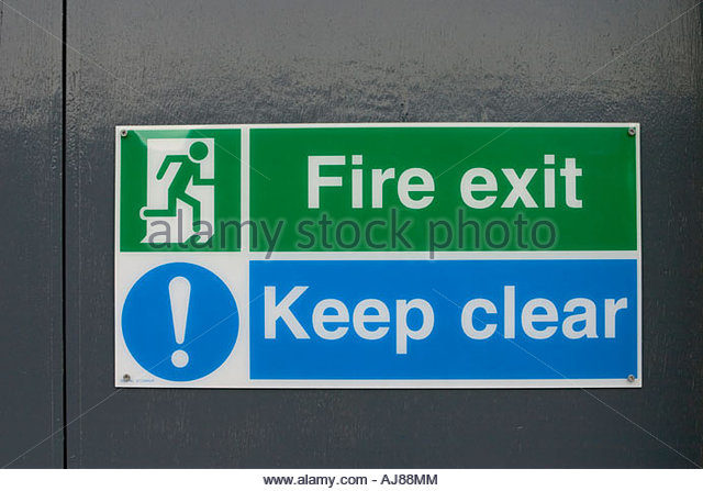 how to clean a fire door