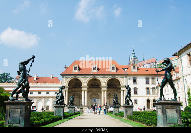 Wallenstein Palace, Prague, Czech Republic - Stock-Bilder