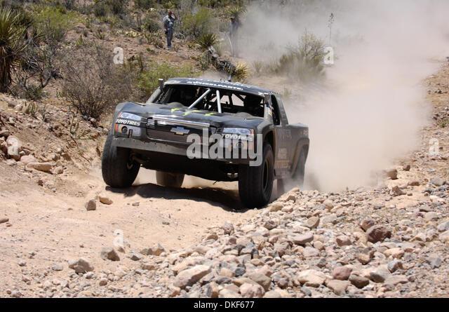 Jun 06, 2009 - Valle de la Trinidad, Baja Norte, Mexico - ROBBIE GORDON, 7th place finisher of Score Trophy Truck - Stock Image
