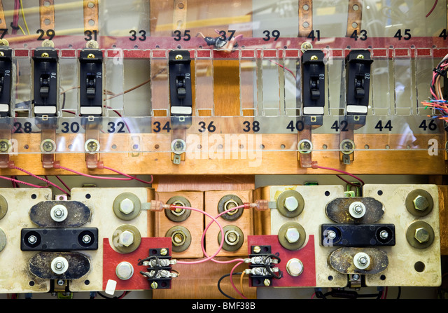 Circuit Breaker Panel Stock Photos Amp Circuit Breaker Panel