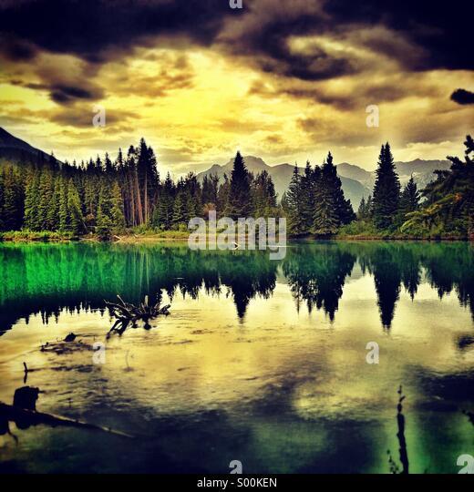Mountain landscape - Stock-Bilder