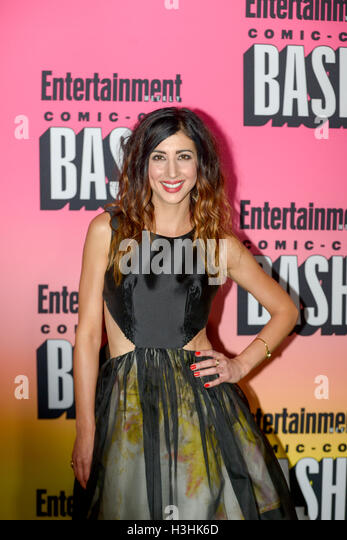 SAN DIEGO, CA - JULY 23: Alanna Masterson attends Entertainment Weekly's Annual Comic-Con Party 2016 at Hard - Stock Image