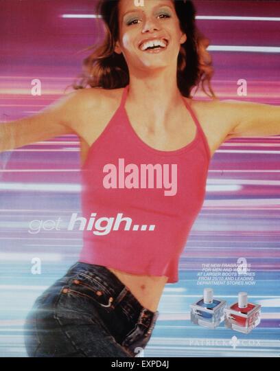 2000s UK Patrick Cox Magazine Advert - Stock Image