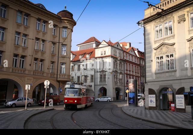 old tram prague street - photo #49