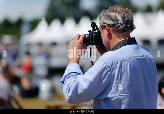 A Photographer - Stock Image