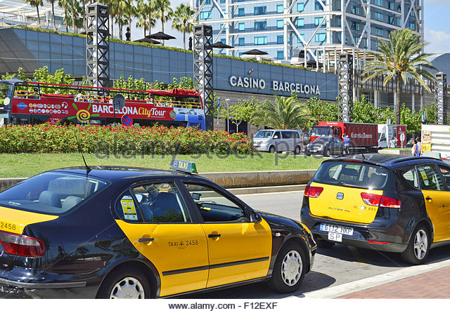 Port olimpic stock photos port olimpic stock images alamy - Cab in barcelona ...