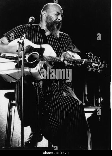 Havens, Richie, 21.1.1941 - 22.4.2013, American musician (folk music), singer, half length, during stage performance, - Stock Image