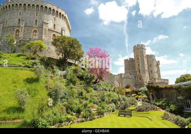 Windsor Castle Garden Stock Photos Windsor Castle Garden Stock Images Alamy