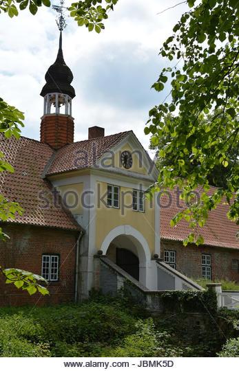 torhaus gut damp - Stock Image