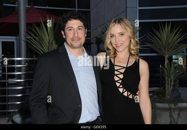 Hollywood, CA, USA. 25th July, 2016. 25 July 2016 - Hollywood, California. Jason Biggs, Jenny Mollen. The Los Angeles - Stock Image
