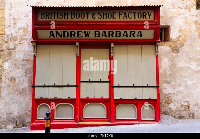 British Shoe Store Valletta Malta