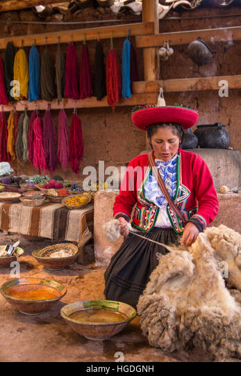Women's cooperative for textile production, - Stock Image