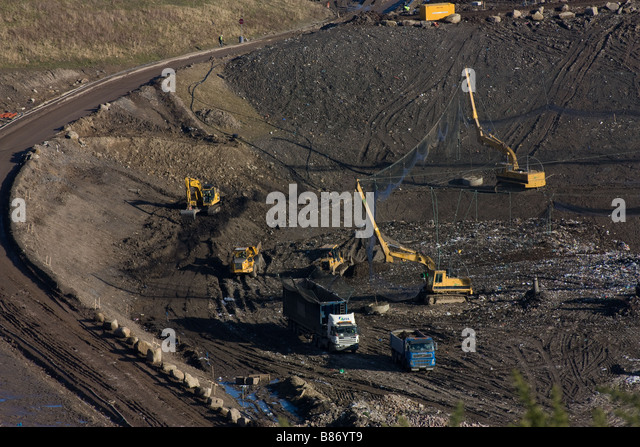 I Love Wallpaper Blaydon : Landfill Site Uk Stock Photos & Landfill Site Uk Stock Images - Alamy