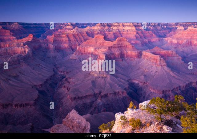 USA, Arizona, Grand Canyon, from Pima Point - Stock-Bilder