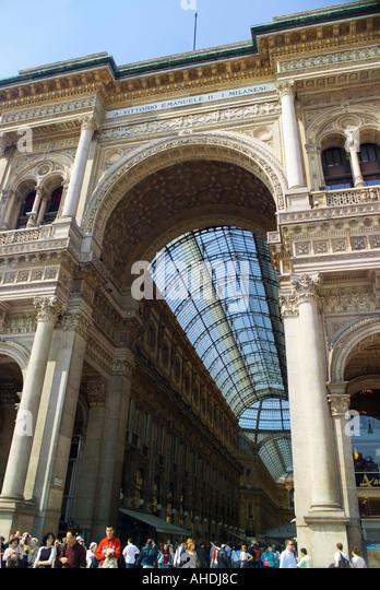 Milan Italy - Stock Image