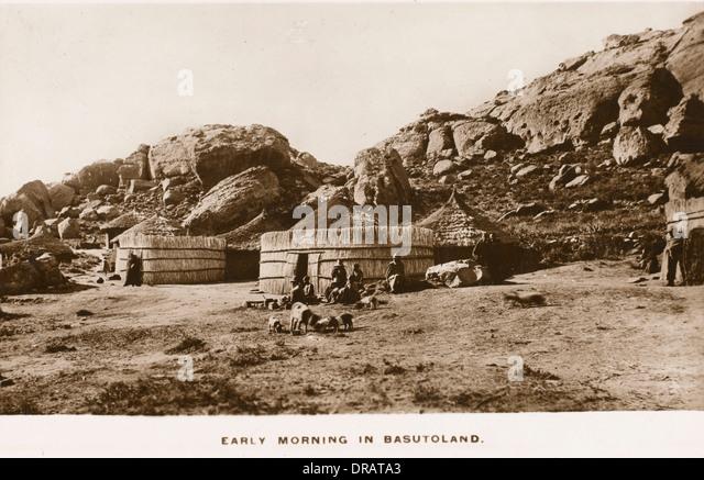 Southern Africa - Lesotho (formerly Basutoland) - Stock Image