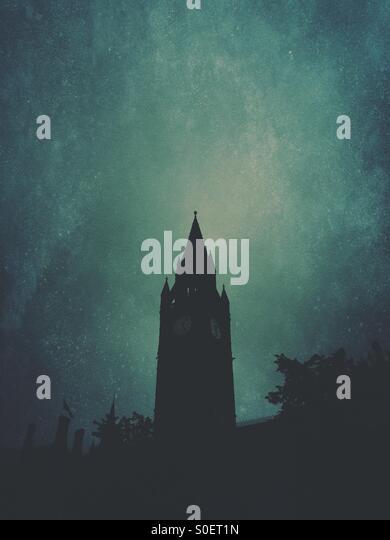 Manchester town hall tower - Stock-Bilder