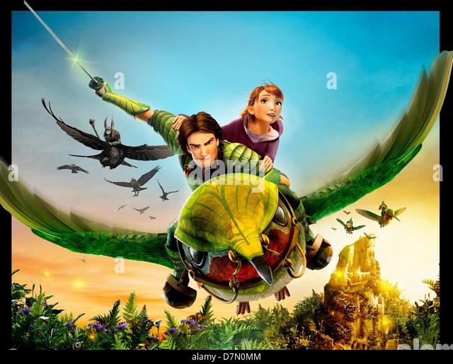EPIC  2013 20th Century Fox animated film - Stock Image