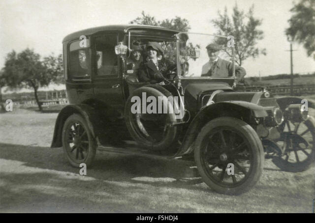Car of the early twentieth century, Italy - Stock Image
