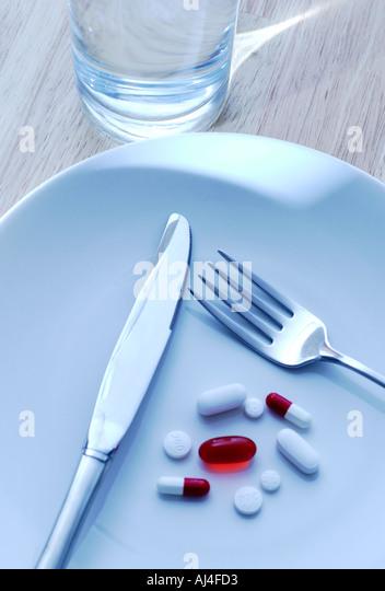 Diet Pills - Stock Image