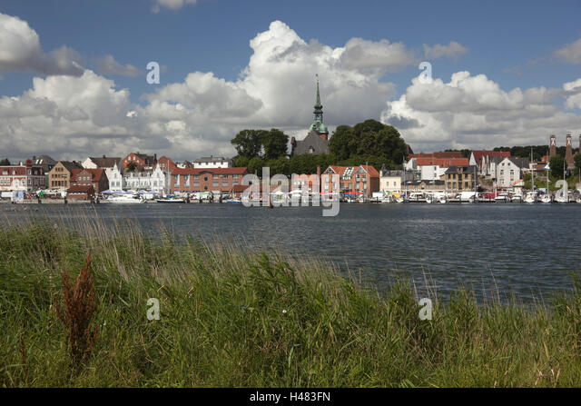 Germany Schleswig - Holstein, region angling, Kappeln in the tench, - Stock Image
