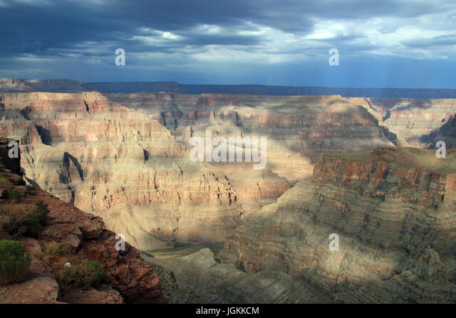 Grand Canyon West View, Arizona, USA - Stock Image