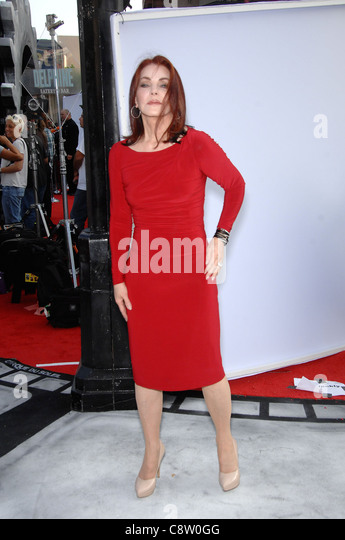 Priscilla Presley at arrivals for World Premiere of Cirque du Soleil's IRIS, Kodak Theatre, Los Angeles, CA - Stock Image