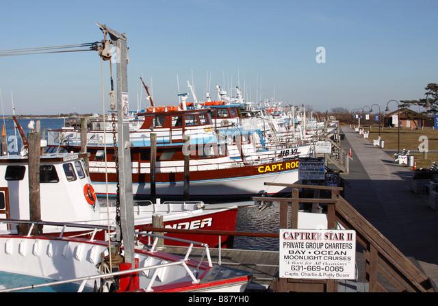Charter fishing boats stock photos charter fishing boats for Fishing boats nyc