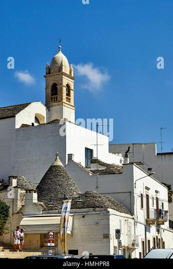 Alberobello, Apulia, Italy - Stock Image