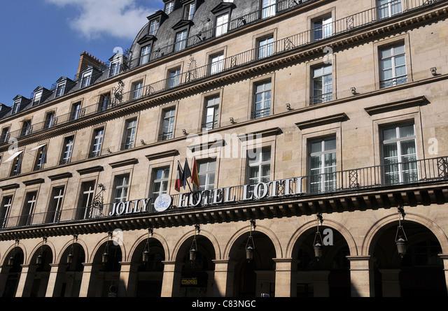 Jolly Hotel Lotti Paris France - Stock Image