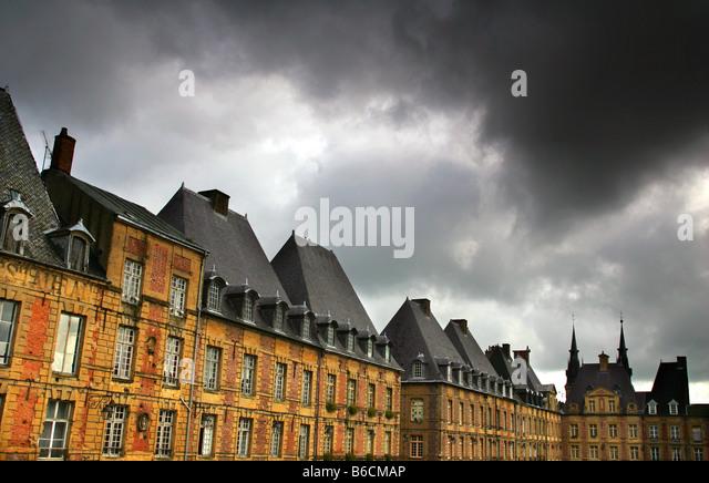 Charleville-Mezieres in the Ardennes, France. - Stock-Bilder
