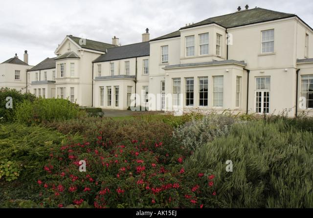 UK, England, Seaham, Seaham Hall Hotel 1791 and Serenity Spa, - Stock Image