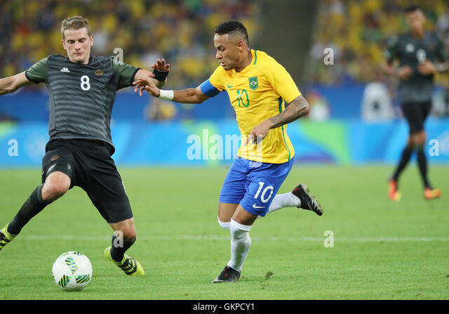 Rio de Janeiro, Brazil. 20th Aug, 2016. Neymar (BRA) Football/Soccer : Men's Final between Brazil - Germany - Stock-Bilder