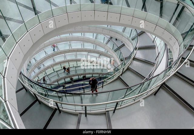 Norman staircase stock photos norman staircase stock for Square spiral staircase plans hall