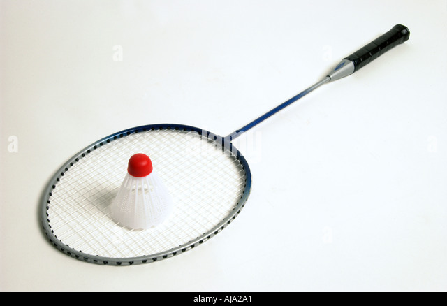 Product shot of a sports object on white seamless paper  - Stock Image