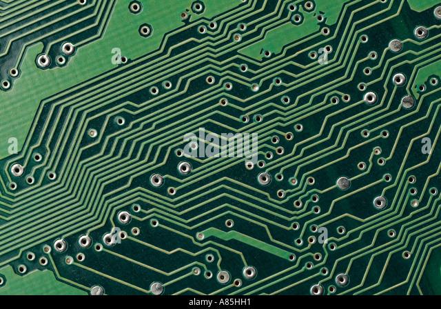 Electronic Circuitboard - Stock Image