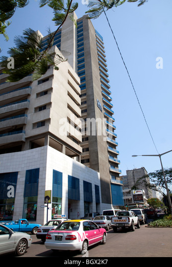 Polana Shopping center in Maputo, Mozambique - Stock Image