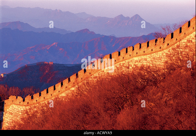 Great Wall China - Stock Image