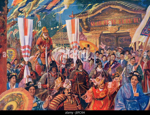 japans shogunate history under minamoto yoritomo The kamakura shogunate was a japanese feudal military government that ruled  from 1185 to  history • minamoto no yoritomo appointed shogun july 12 1185  • battle of dan-no-ura april 25, 1185  powers from the aristocracy in 1192,  yoritomo and the minamoto clan established a military government in kamakura.
