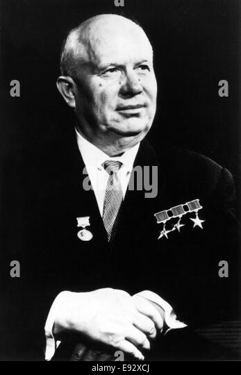 a biography of nikita sergeyevich khrushchev a russian politician Portraits of power - khrushchev - the bear's embrace narrated by henry fonda the first part of this series deals with the russian head of state nikita sergeyevich khrushchev ( 15041894 in.