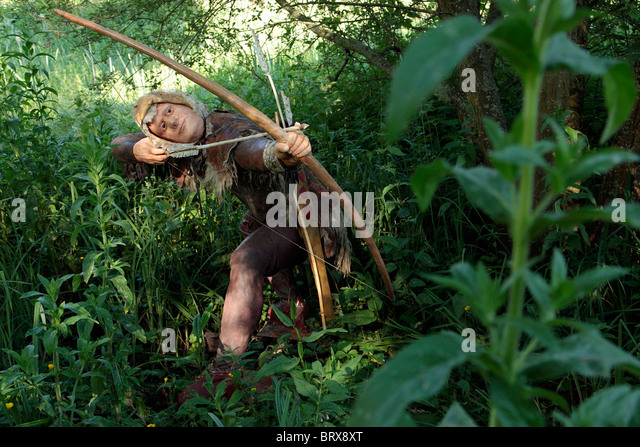 Prehistoric Hunting Stock Photos & Prehistoric Hunting ...