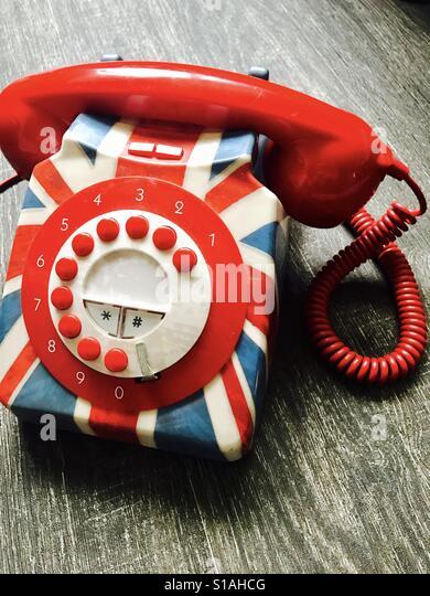 Old phone - Stock-Bilder