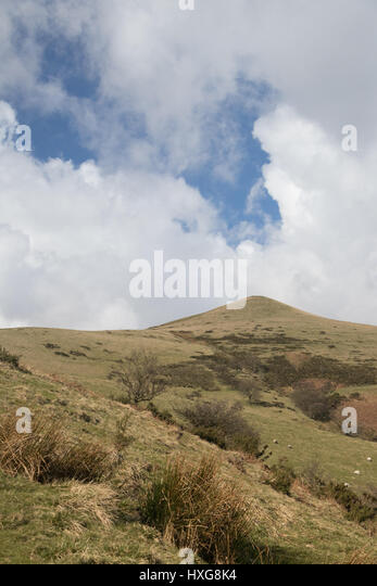 Lose Hill, Edale - Stock Image