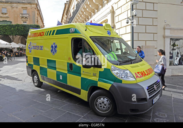 Malta Ambulance Stock Photos Amp Malta Ambulance Stock