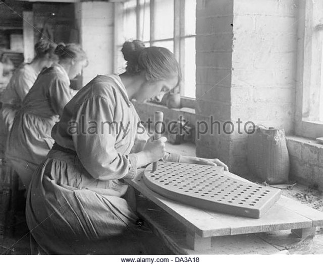 Industry during the First World War- Leicestershire Q28111 - Stock-Bilder