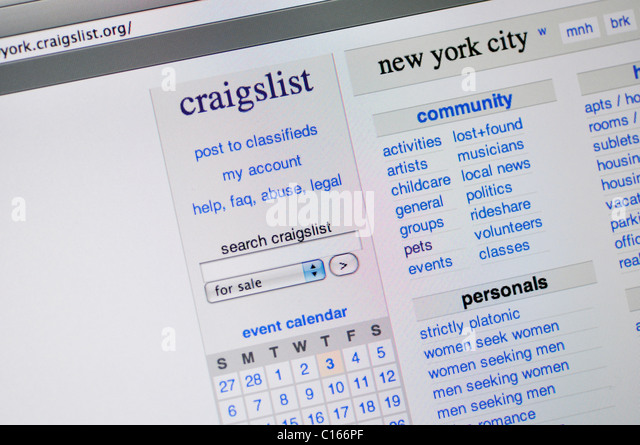 Craigslist dating new york city