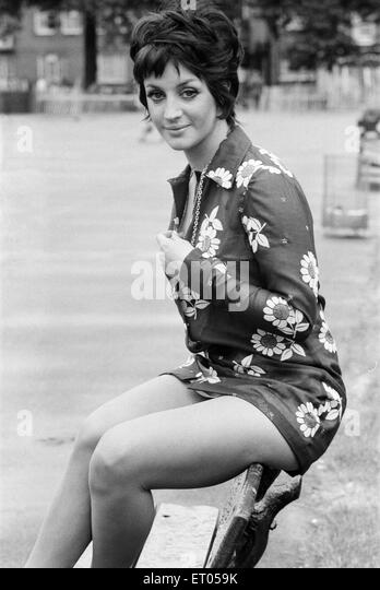 Yvonne Paul, Actress, Model & Dancer, aged 22, pictured 22nd June 1969. - Stock Image