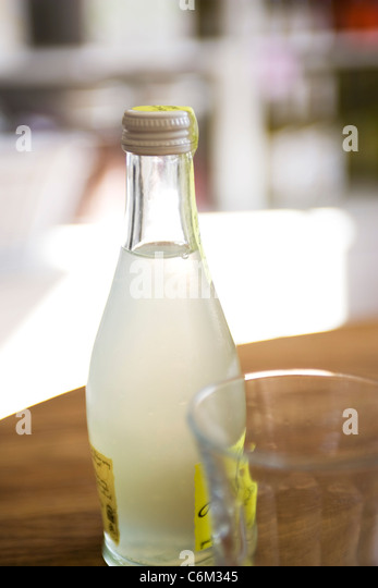 Soft drink in bottle - Stock Image
